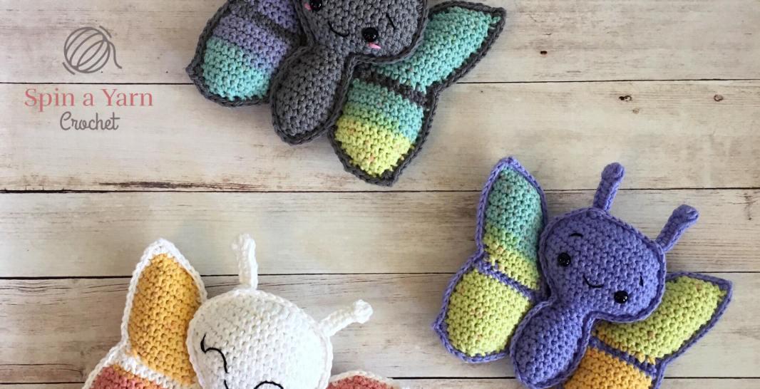 Charming Butterfly Amigurumi Doll [Free Crochet Pattern] - The ... | 546x1066
