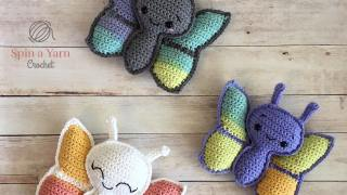 Butterfly Amigurumi Free Crochet Pattern