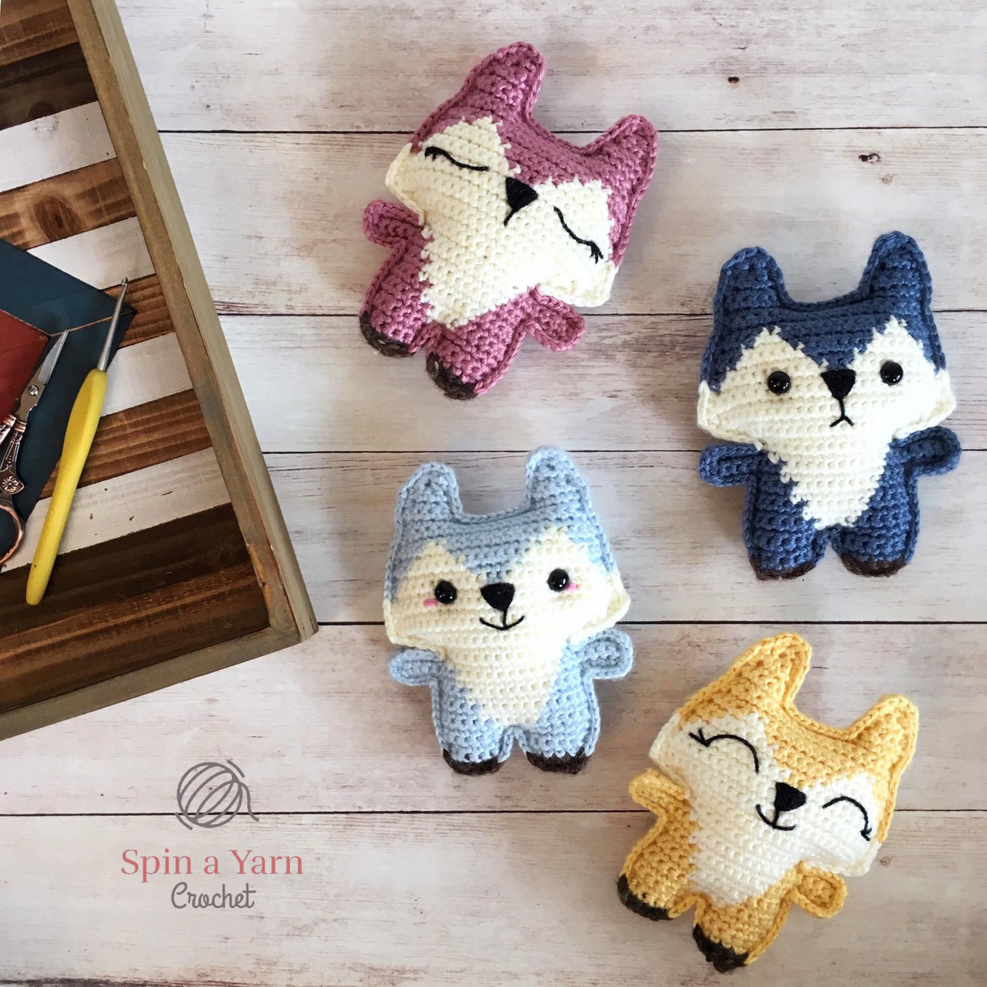 Pocket Fox Free Crochet Pattern Spin A Yarn Crochet