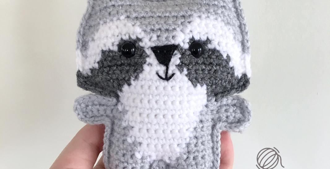Crochet amigurumi raccoon pattern   Etsy   546x1066