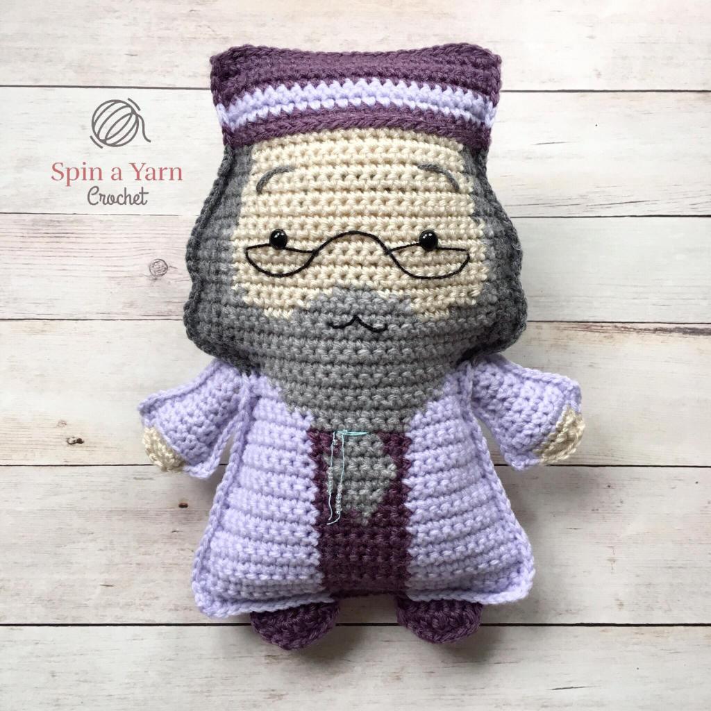 Crochet Dumbledore