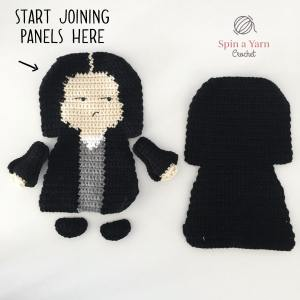 Snape panels for assembly - front