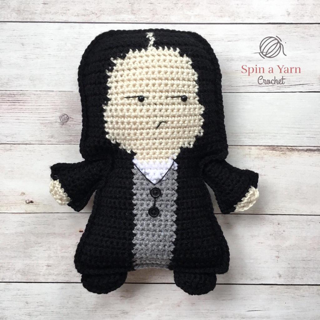 Crocheted Snape