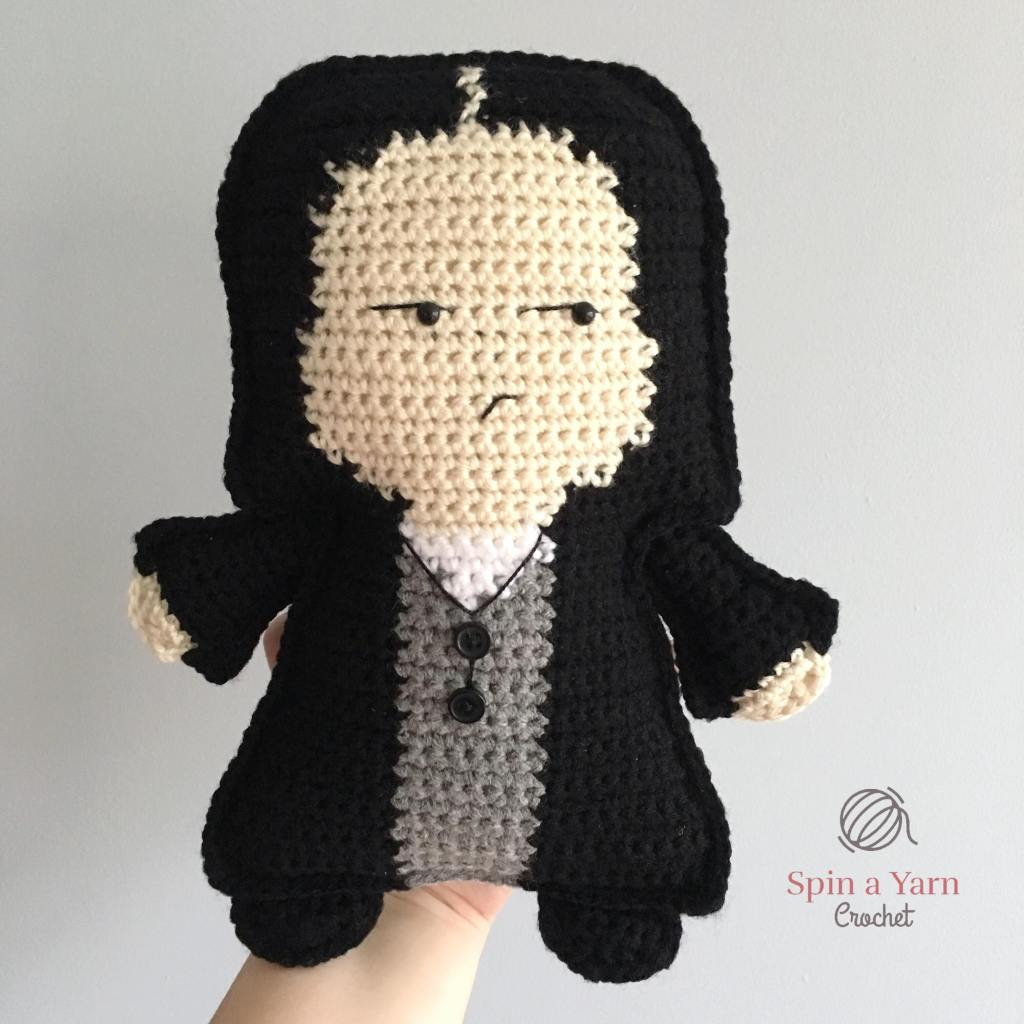 Crocheted Snape