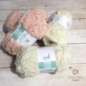 Cream yarn