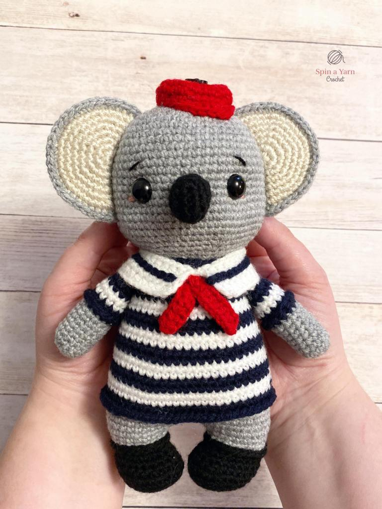 Crochet Koala in hands