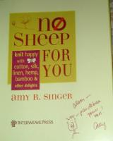 No Sheep For You signing