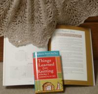 Stephanie's book and mine