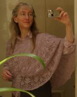 Kathy\'s Clover Chain shawl