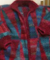 Kaffe Fassett Big Diamonds coat