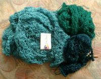still knitting