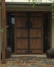 Imported Chinese feature front doors