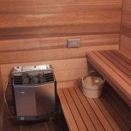 Indoor Sauna built into Residence
