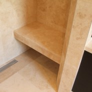 Travertine Stone Shower