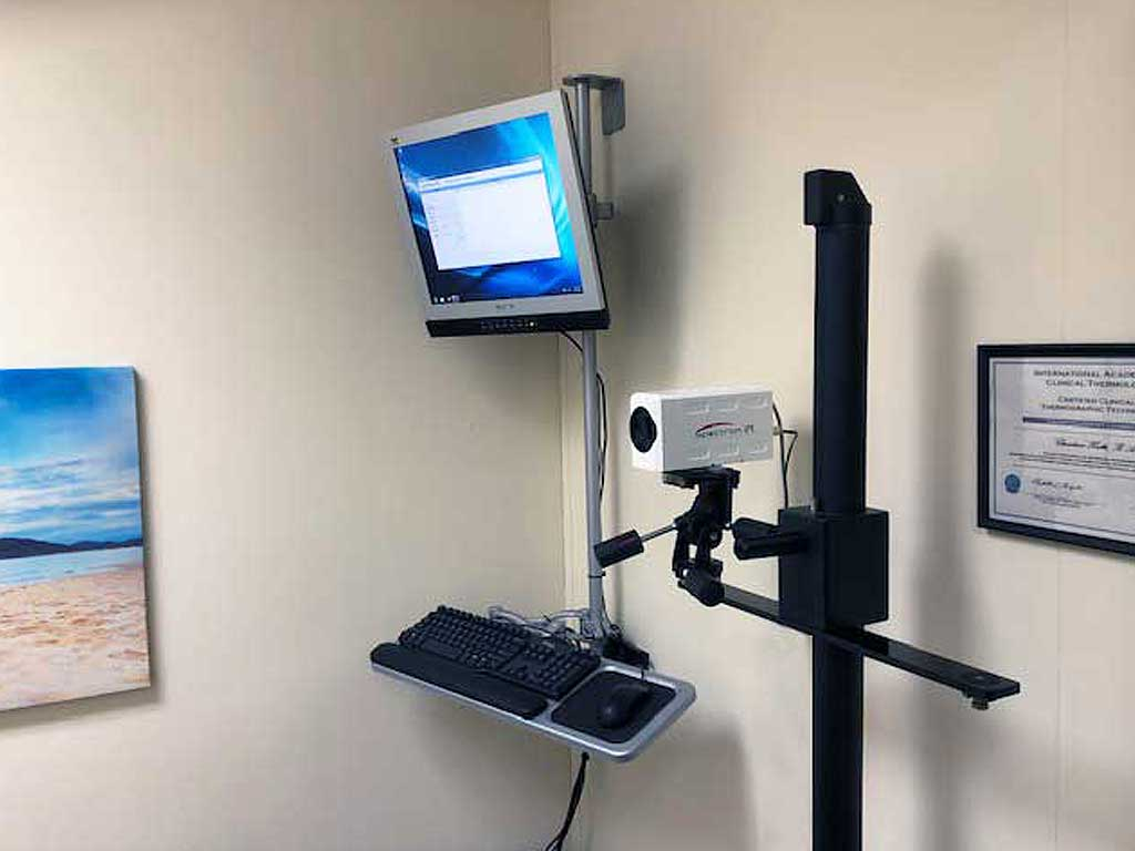 Computerized medical infrared imaging system