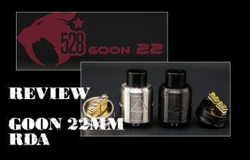 528 Customs Goon 22 RDA REVIEW SPINFUEL VAPE MAGAZINE