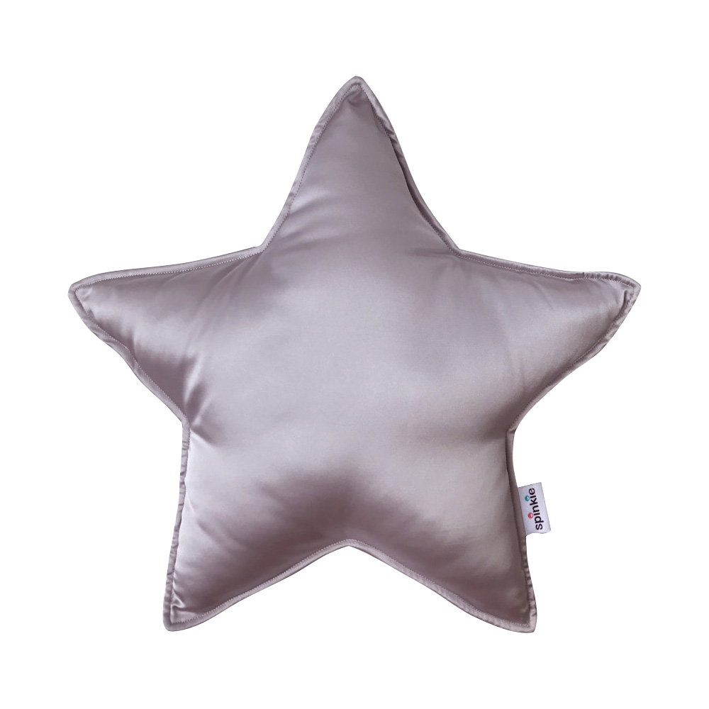 Charmeuse Star Pillow in HUSHED VIOLET  Spinkie Baby