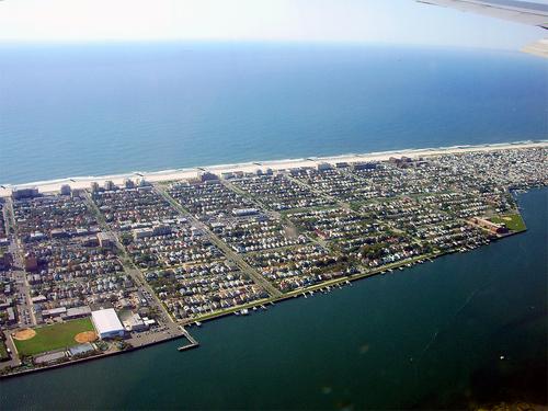 Sky view of Long Beach, NY - My Community