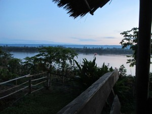 Mekong river view Sangkhom