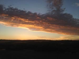 Bells Beach sunset