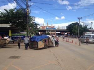 Cambodian Thai border - Poipet