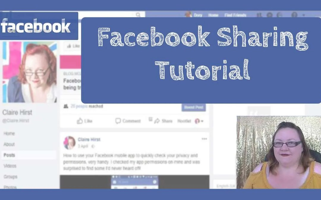 Facebook Sharing Tutorial – 4 Effortless Tips for Desktop