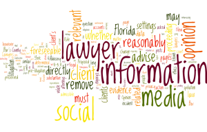 Are Attorneys Allowed to Advise Clients to Clean Up Social Media Profiles
