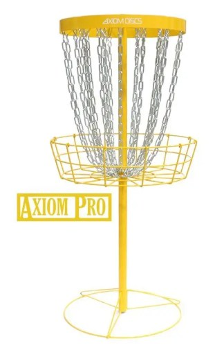 Axiom Pro 24-chain basket yellow