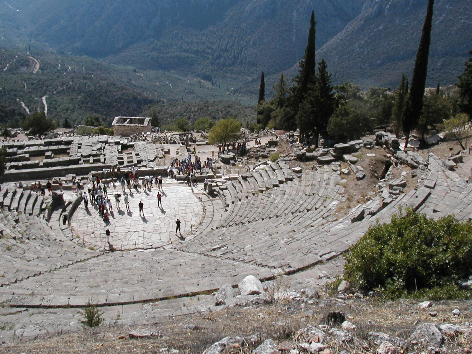 amphitheater at Delphi