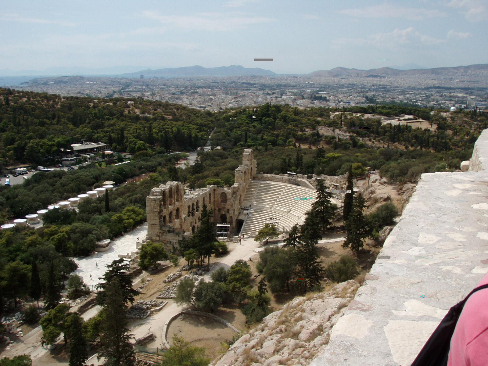 the theater of Herodotus Atticus