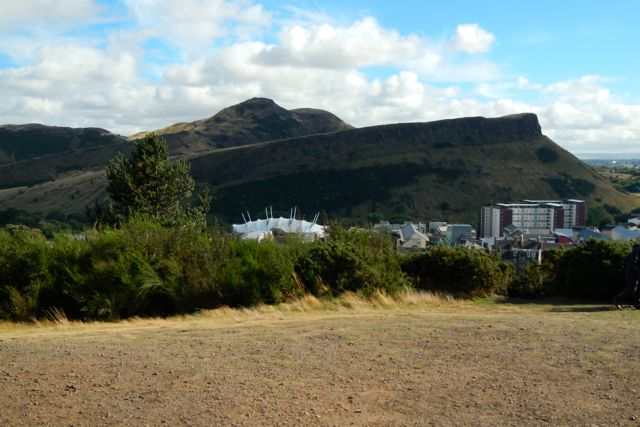 shockingly beautiful Arthur's Seat, Edinburgh