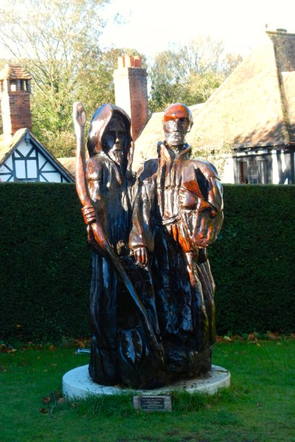 Chilham was a stop on the Pilgrim's Way (to Canterbury)