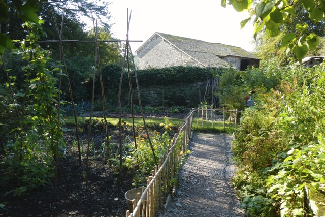 Peter's garden (Beatrix Potter's farm)
