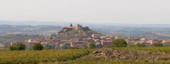a hilltop village in La Rioja