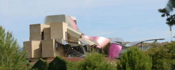 Frank Gehry-designed bodega in La Rioja