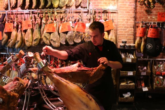 jamón - the national meat