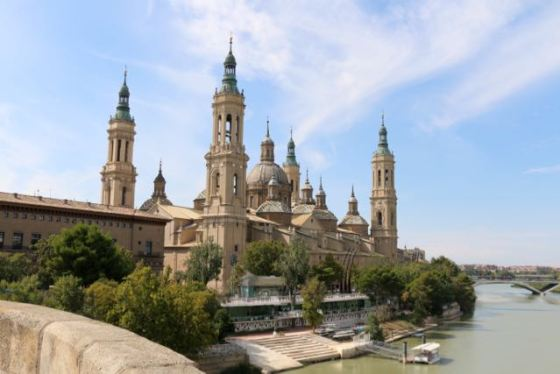 the Basilica de Nuestra Señora del Pilar - I just call her Pilar after my favorite character in For Whom the Bell Tolls.