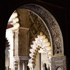 love the archways!