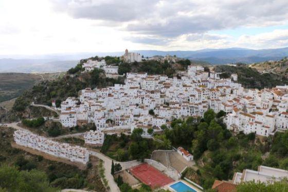 Casares, a pueblo blanco in Andalucía