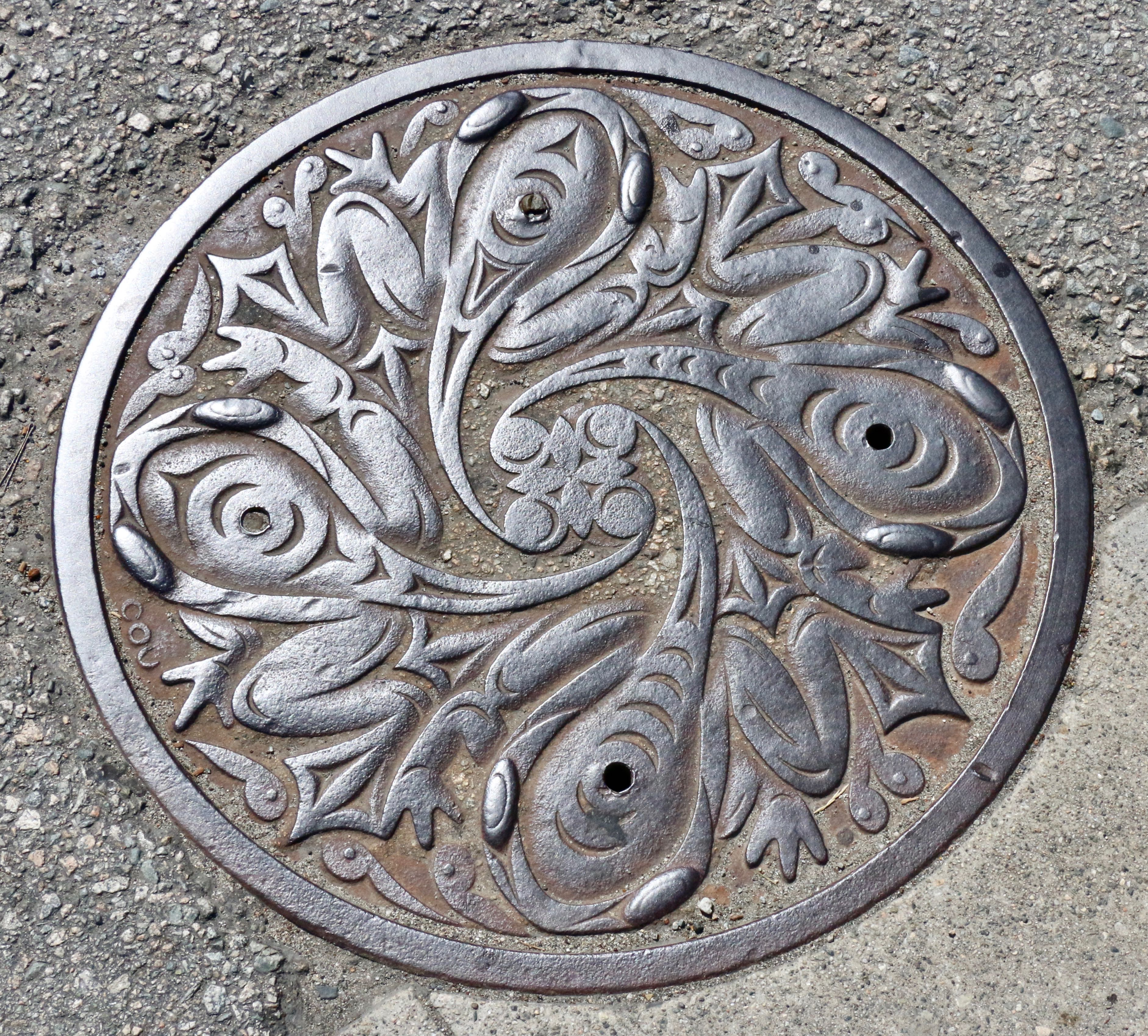 04 native manhole covers