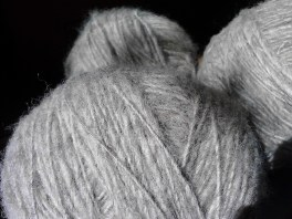 The wool is soft and strong.