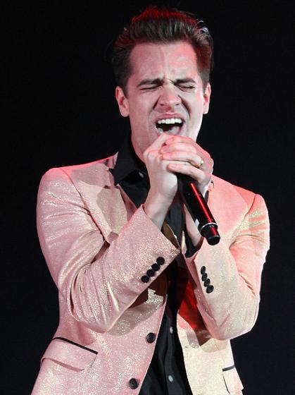 Panic!'s Brendan Urie unleashes that magnificent voice
