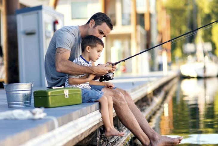 faire de la pêche