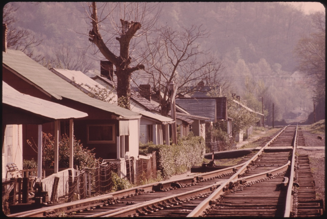 Current West Coal Virginia Times Towns