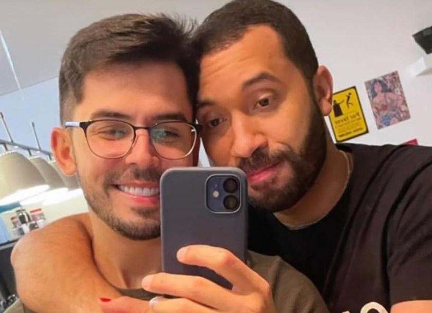 Plinio Vasconcellos and Gil do Vigor (Reproduction/Instagram)