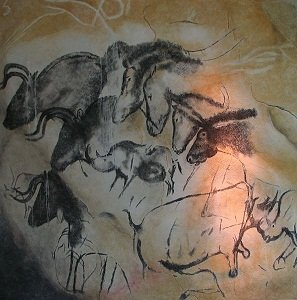 Paintings from Cave Chauvet