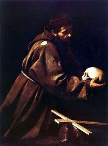 St. Francis at Prayer, by Caravaggio. 1602-06