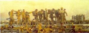 Gassed, by John Singer Sargent. 1918