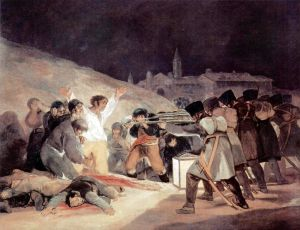 The Third of May, by Francisco de Goya. 1814