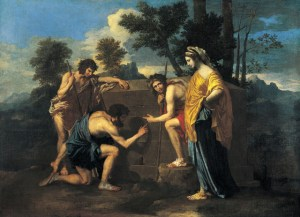 The Shepherds of Arcadia, by Nicolas Poussin. 1630s.